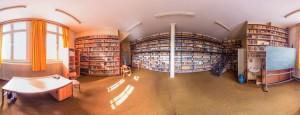 Panorame der alten Bibliothek