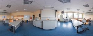 Panorama des Biologieraumes N24